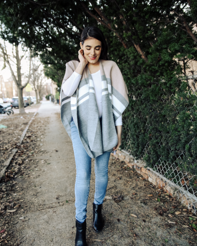 Cozy Winter in Ponchos